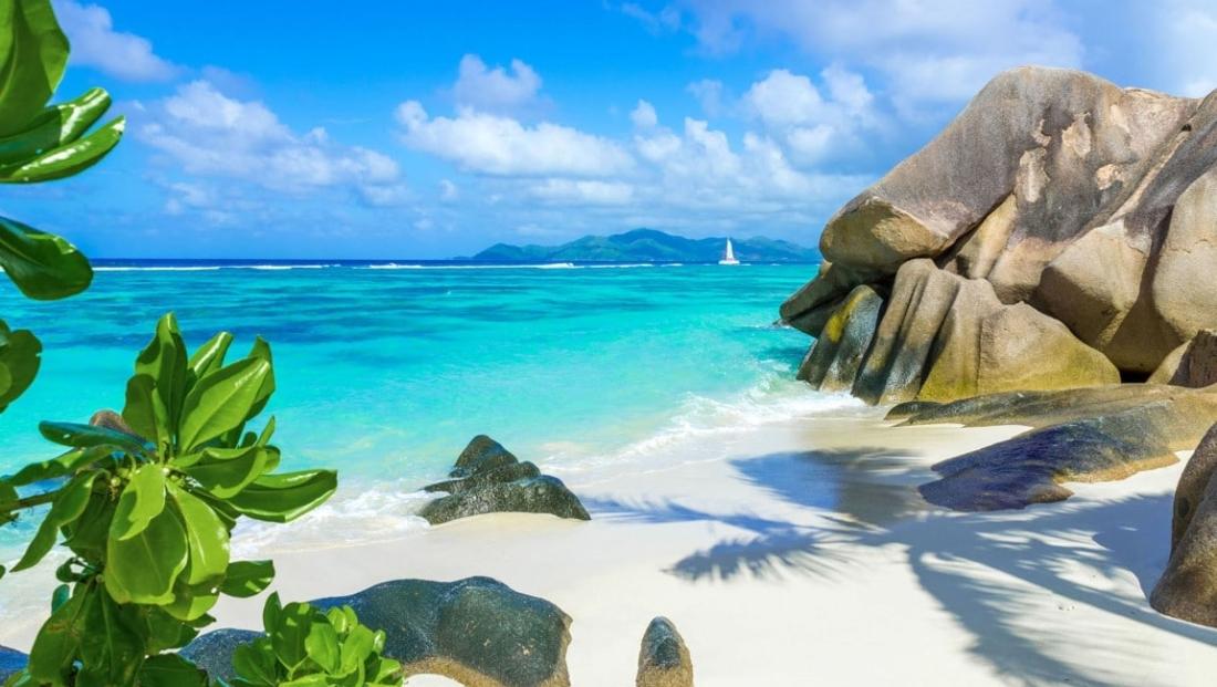 Seychellen Strand - prachtig strand
