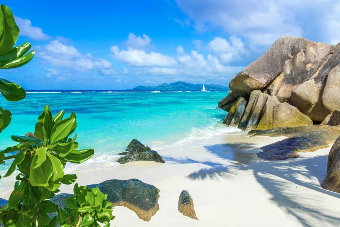 Out in Africa - Anse Source d'Argent, strand, La Digue, Seychellen, Mahe, Seychellen, Afrika