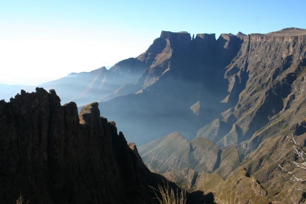 Devil's Tooth Drakensbergen - Op wandelsafari in Zuid-Afrika
