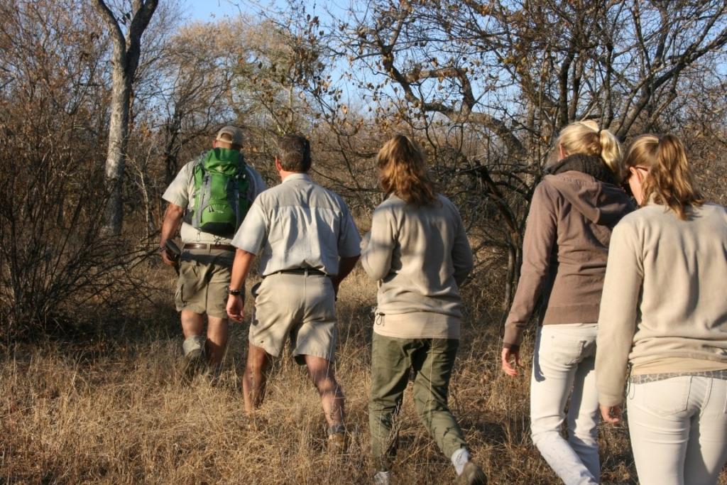 Op wandelsafari in Zuid-Afrika