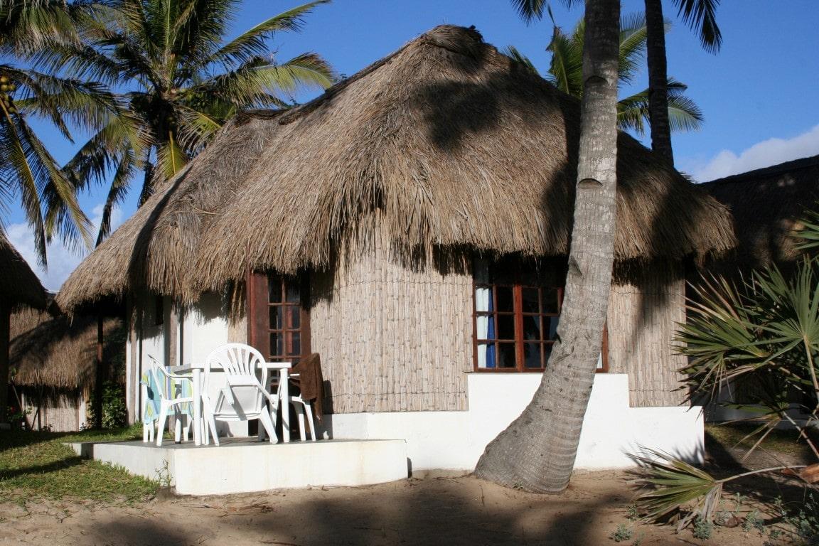 Het Weer en andere Tips voor uw reis naar Mozambique  eenvoudig guesthouse
