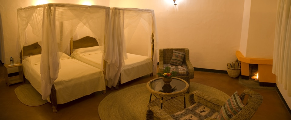 Country Lodge - slaapkamer
