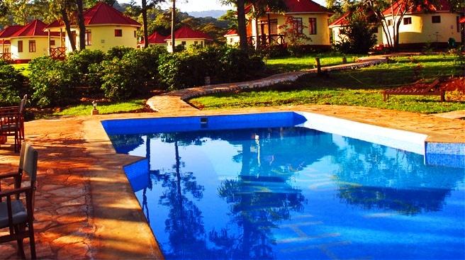 Hhando Coffee Lodge - zwembad