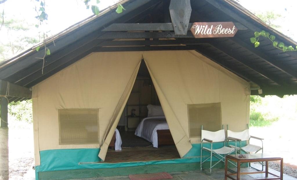 Kijereshi Tented Camp - tent huisje