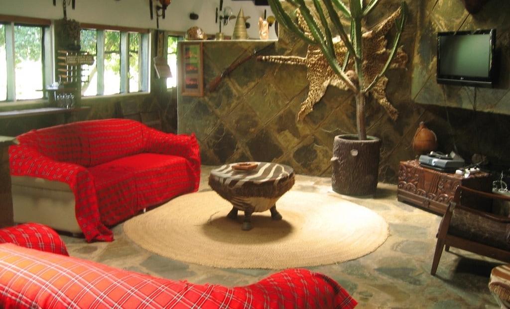 Kijereshi Tented Camp - lounge