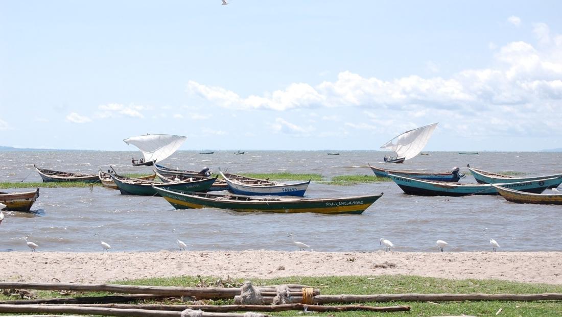 Lake Victoria - vissersboten