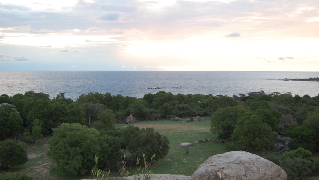 Lake Victoria - vanaf rotsen