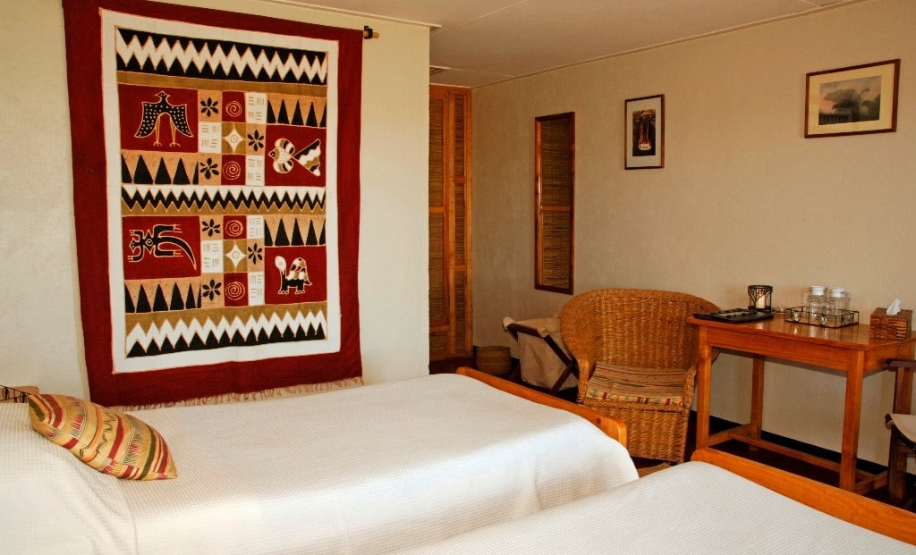 Ndutu Safari Lodge - slaapkamer
