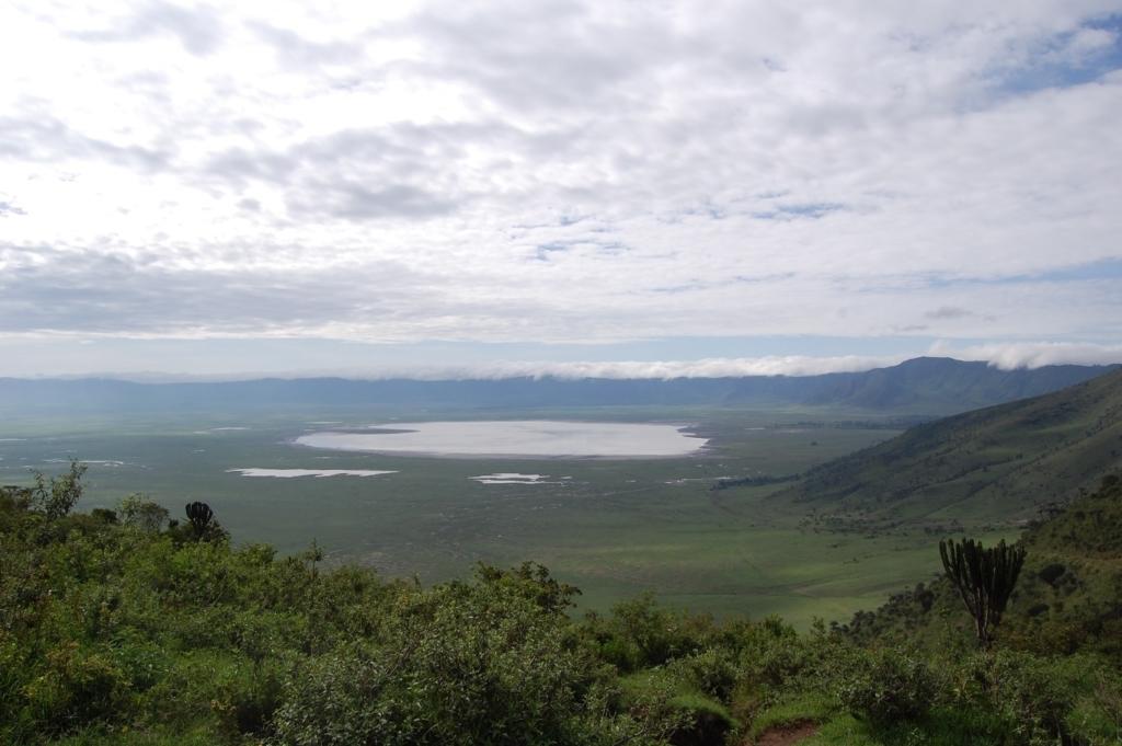 Ngorongoro Krater, uitzicht, de mooiste natuurgebieden in Tanzania, safari