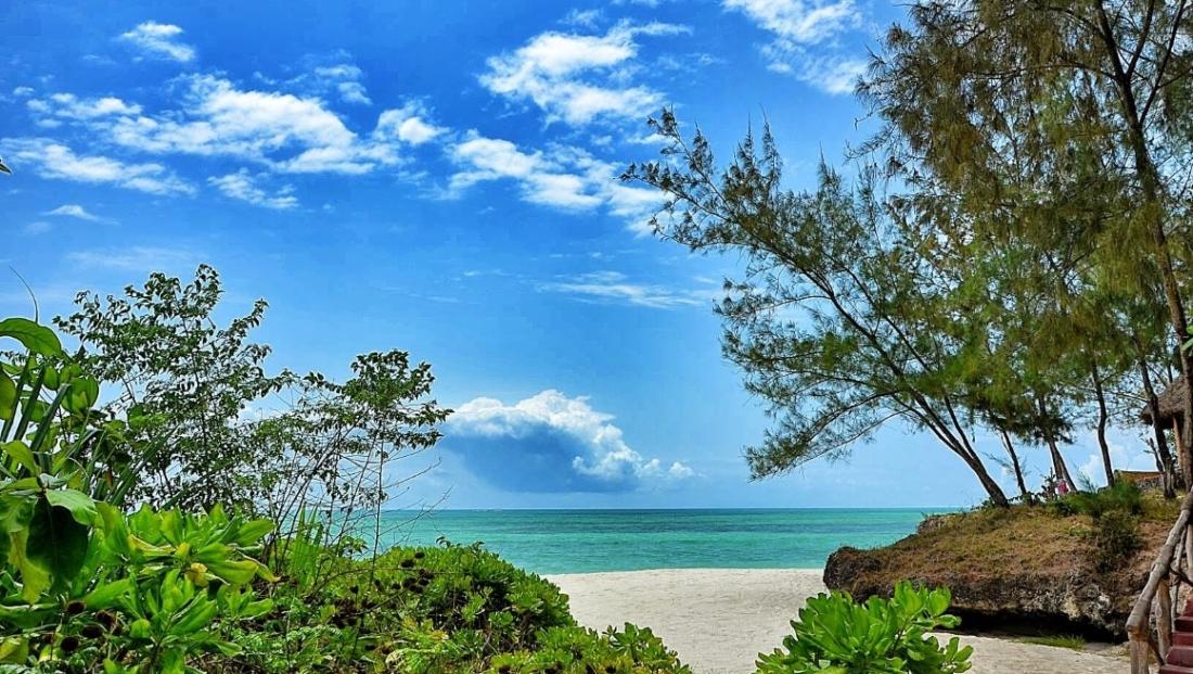 Pongwe Beach Hotel - uitzicht op zee
