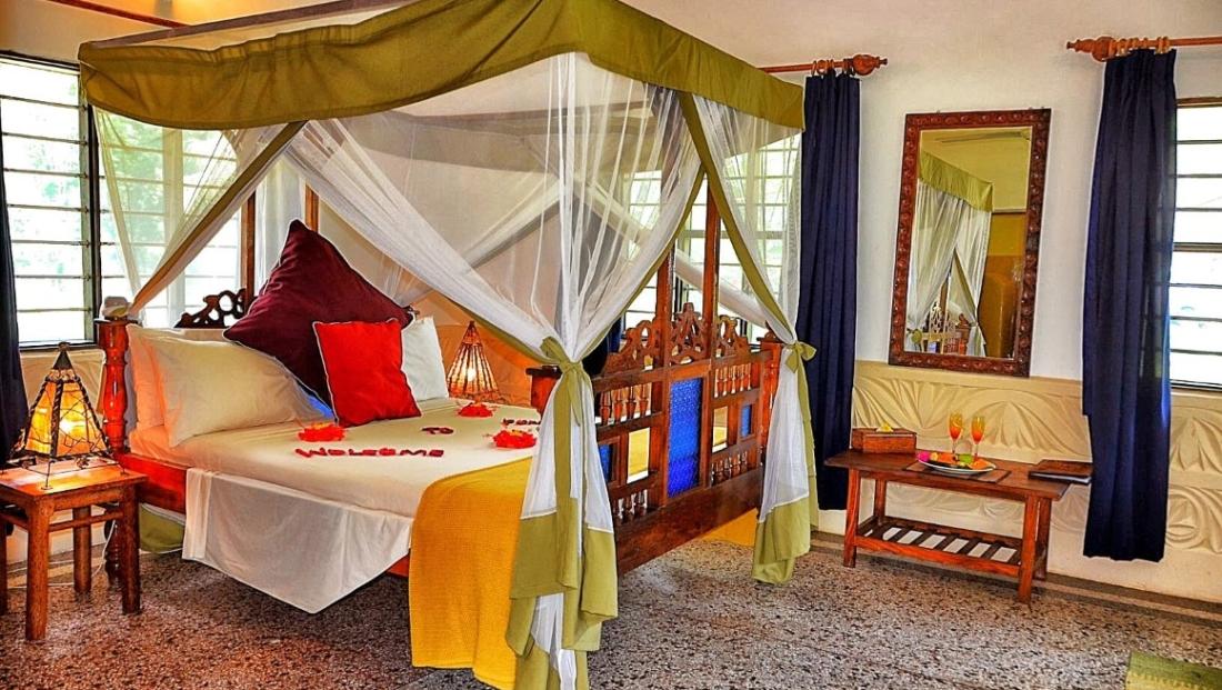 Pongwe Beach Hotel - hotelkamer