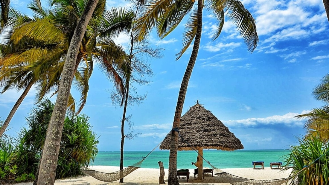 Pongwe Beach Hotel - prachtig strand