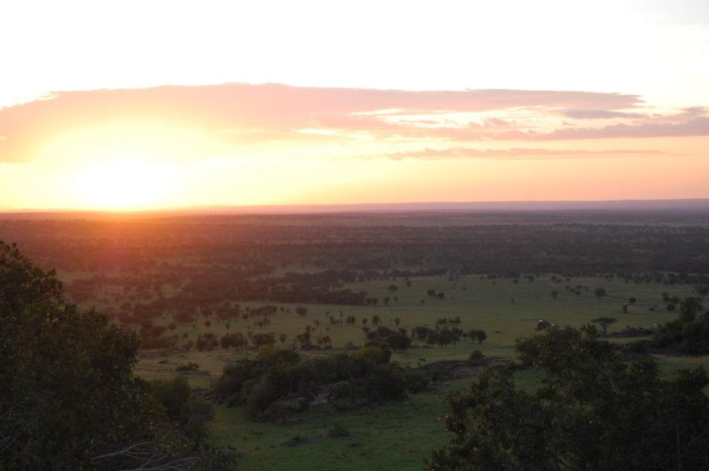 Serengeti, Lobo, zonsondergang - De mooiste natuurgebieden in Tanzania