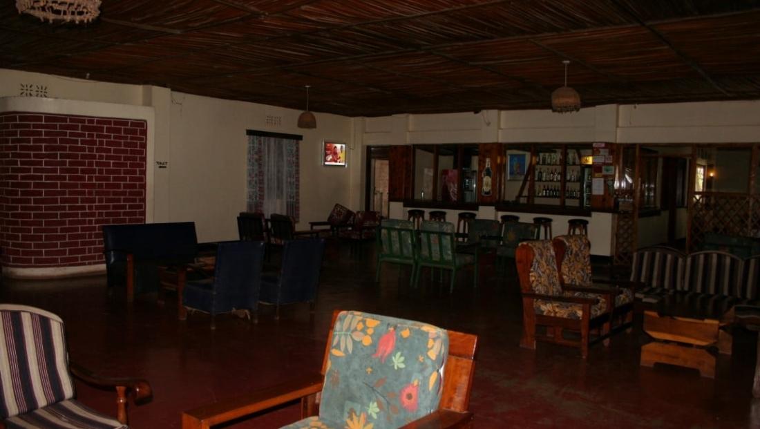 Twiga Camp - lounge - bar