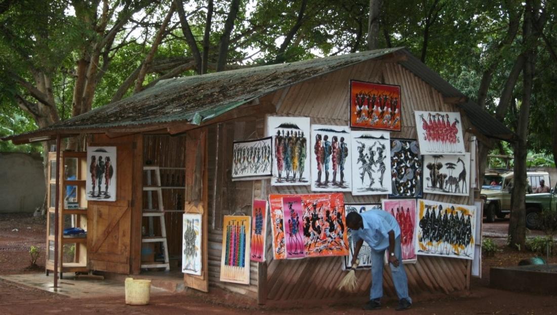 Twiga Camp - verkoop schilderijen