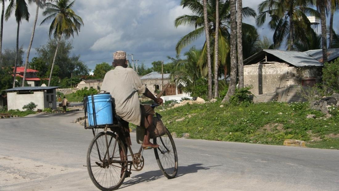 Zanzibar - vervoer per fiets