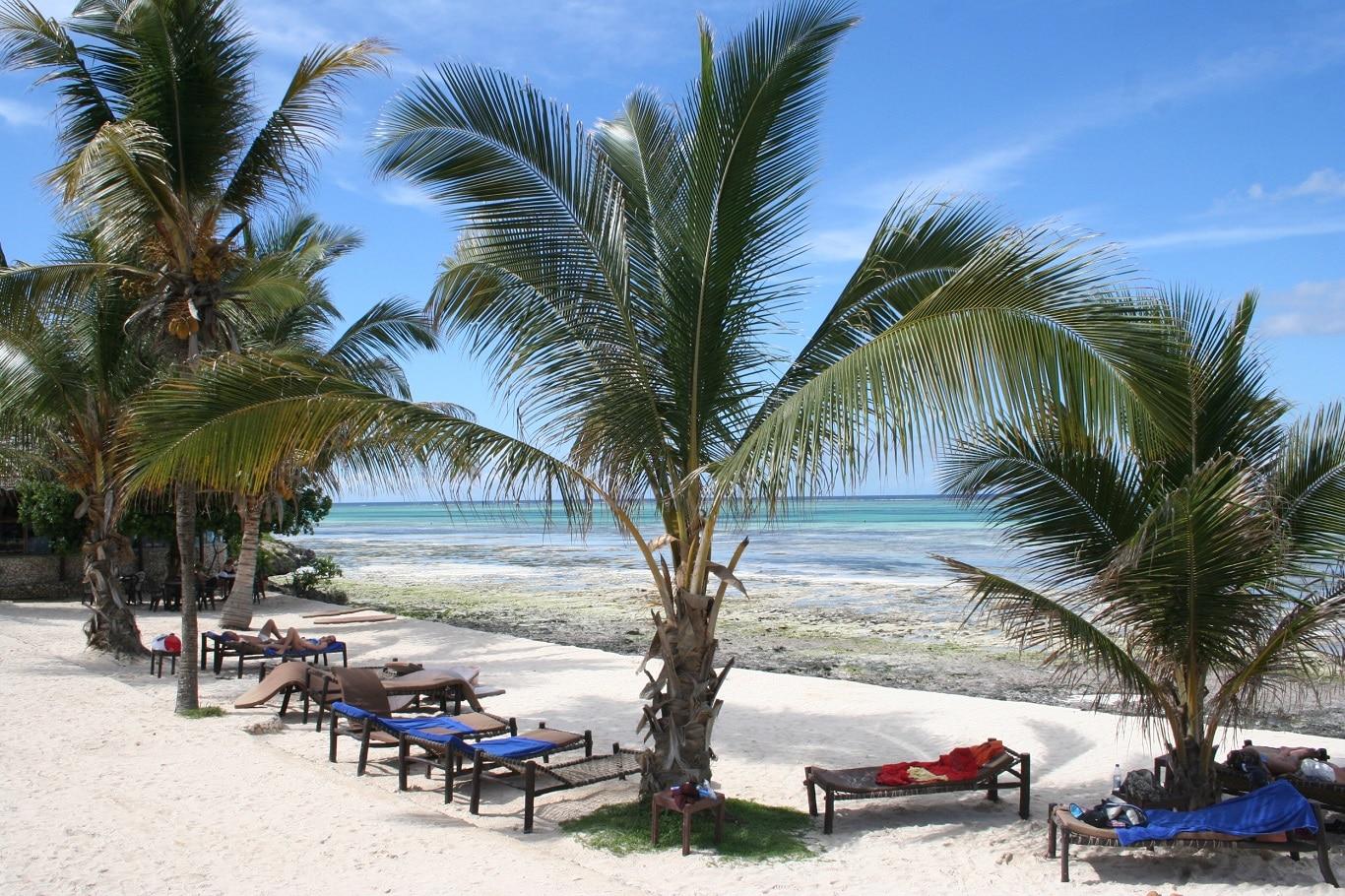 Safari reizen Tanzania - Strandverlenging op tropisch strand