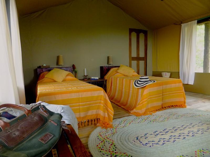 Sangaiwe Tented Lodge - slaapkamer