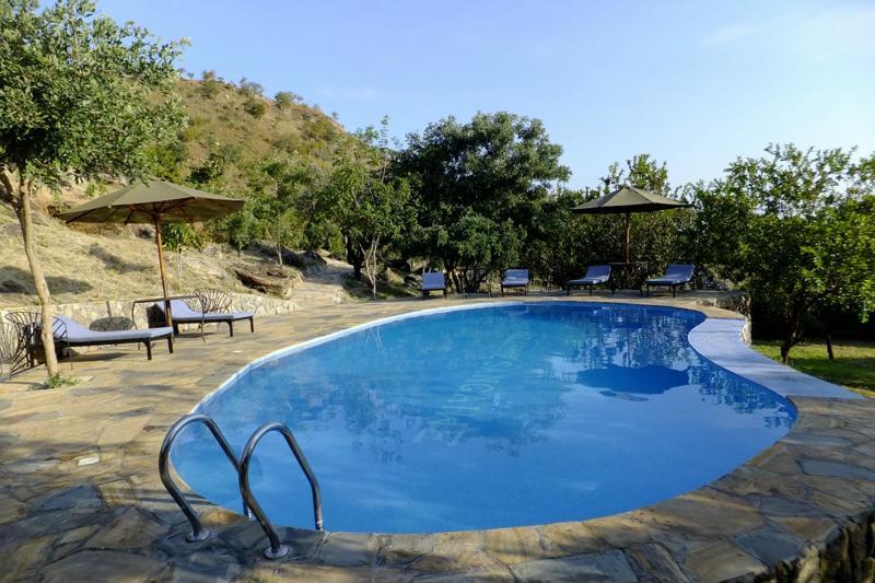 Sangaiwe Tented Lodge - zwembad