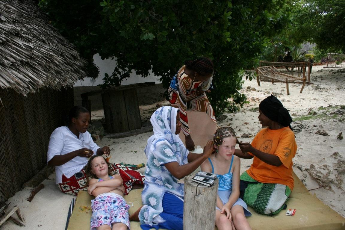 De meest geschikte landen in Afrika voor een vakantie met kids Tanzaznia Zanzibar