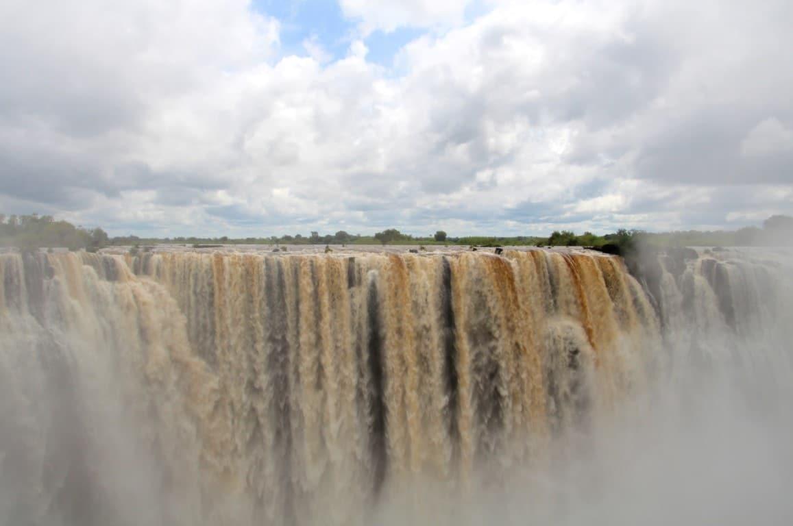 Waterval, Victoria Falls, Zimbabwe - Op vakantie naar Botswana? Dit moet je gezien hebben!