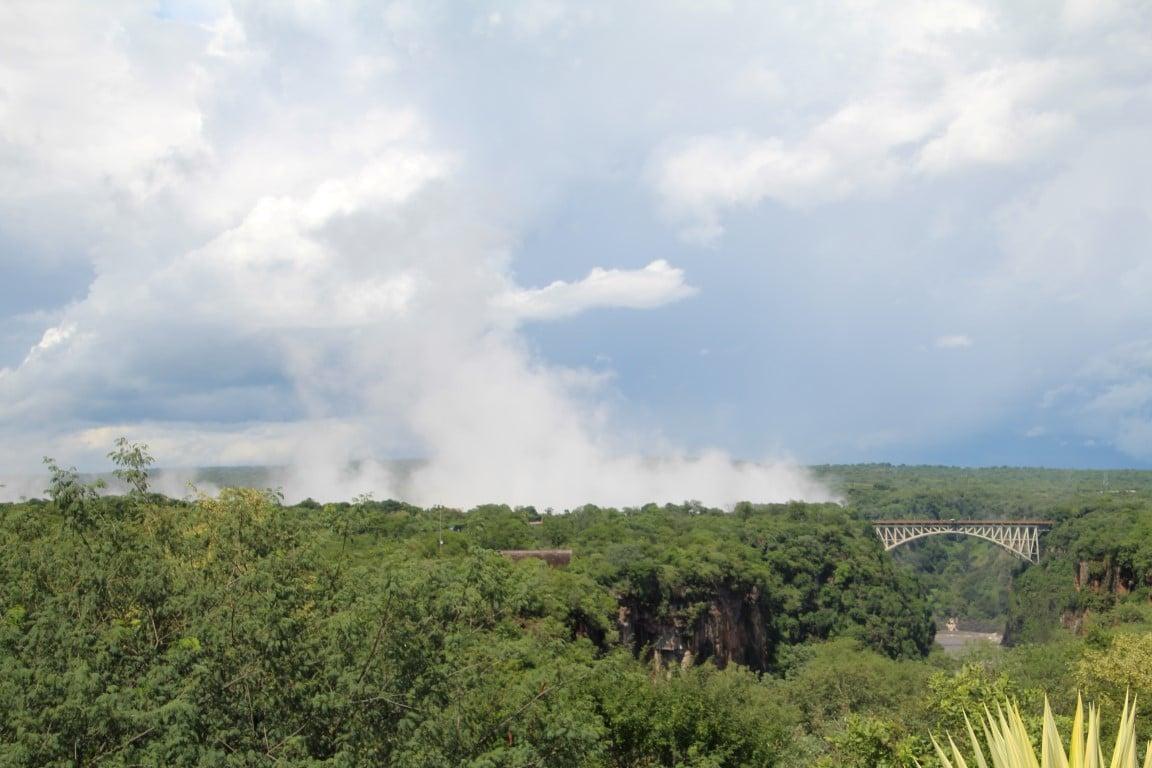 Spray, waterval, Victoria Falls, Zimbabwe - Op vakantie naar Botswana? Dit moet je gezien hebben!