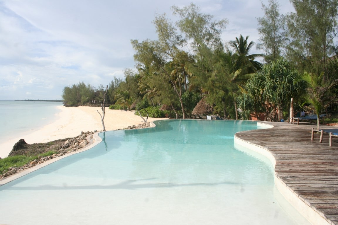 De mooiste huwelijksreisbestemmingen in Afrika - zwembad, strand, Zanzibar, Tanzania
