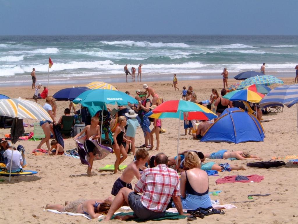 Strand, kust, december, Zuid-Afrika - In december naar Zuid-Afrika