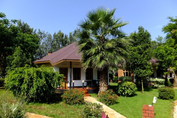 Bougainvillea Safari Lodge - huisjes