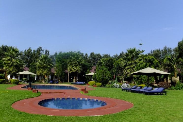 Bougainvillea Safari Lodge - zwembad