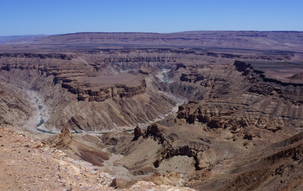 Fish River Canyon, Namibië - Bezienswaardigheden in Namibië