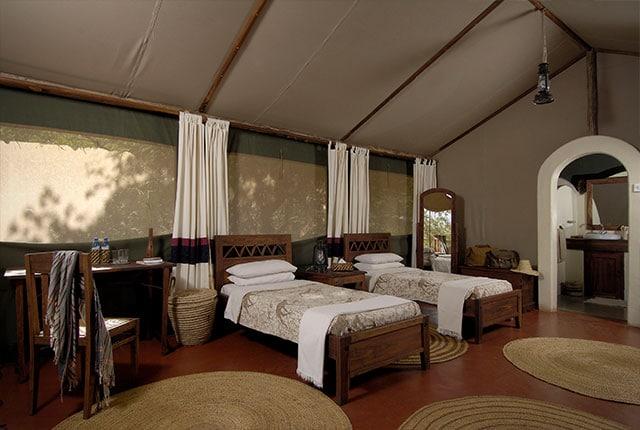 Kirurumu Manyara Lodge - slaapkamer