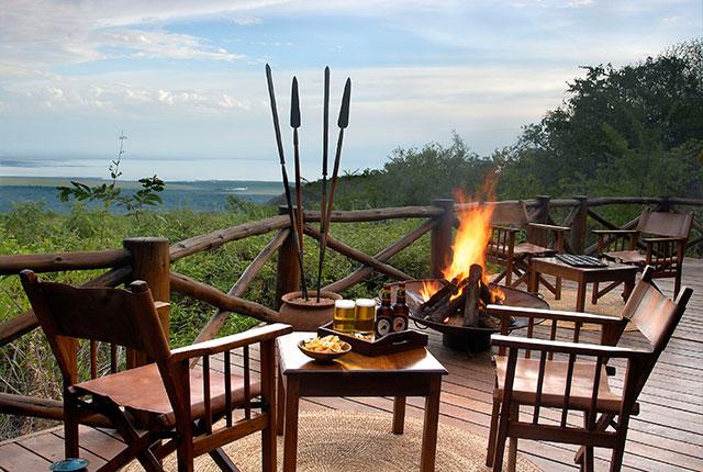 Kirurumu Manyara Lodge - terras