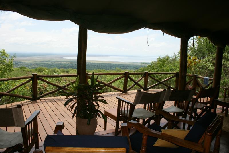 Kirurumu Manyara Lodge - prachtig uitzicht