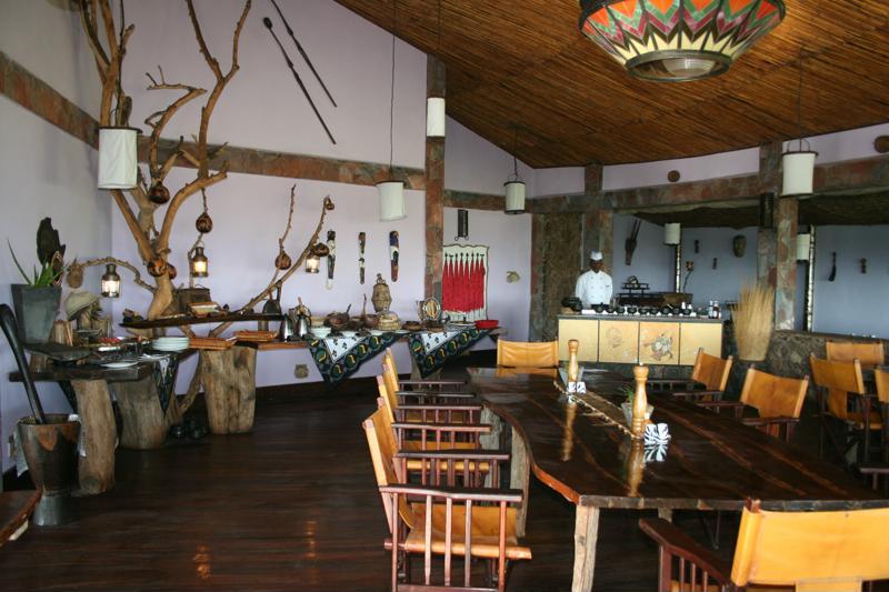 Mbalageti Serengeti - restaurant