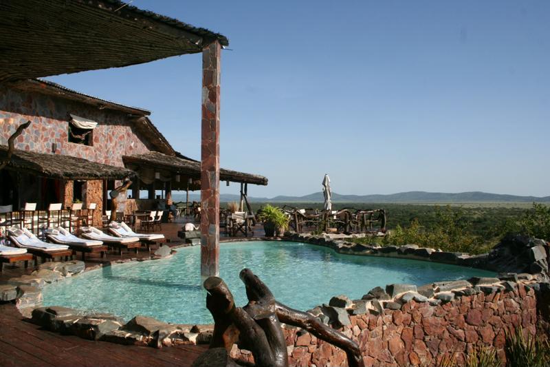 Mbalageti Serengeti - zwembad