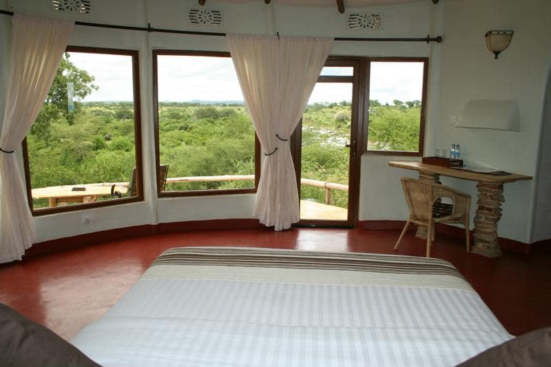 Tarangire Osupuko Lodge - slaapkamer