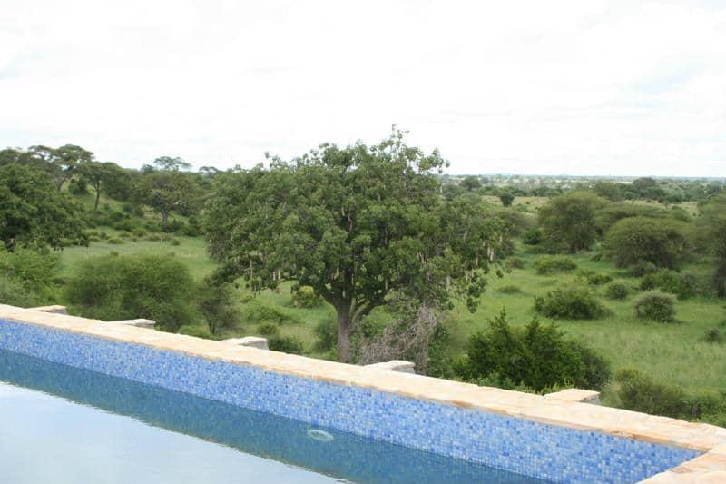 Tarangire Osupuko Lodge - zwembad