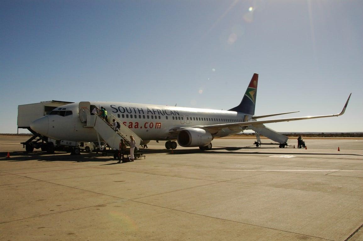 Safari & Strand reizen Afrika - Lokale vlucht is soms nodig