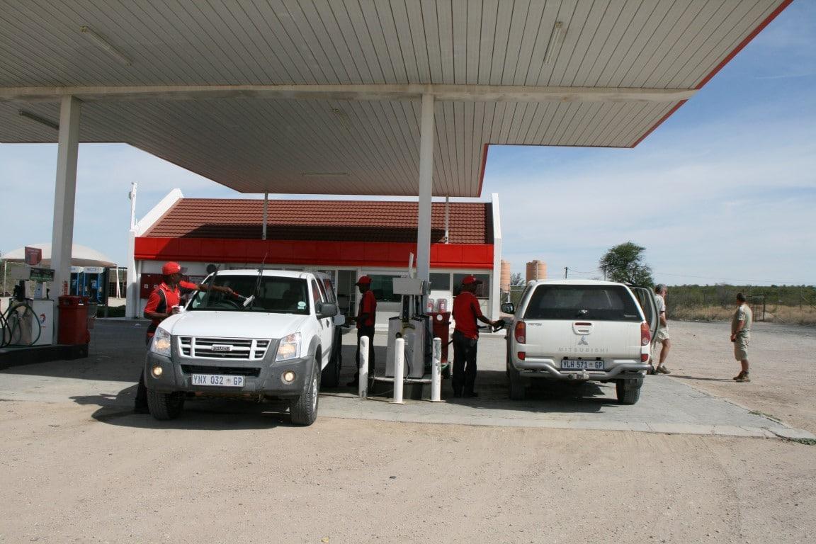 Kosten ter plaatse en boodschappen doen in Zuid Afrika - autorijden, tanken, benzinestation, Zuid-Afrika