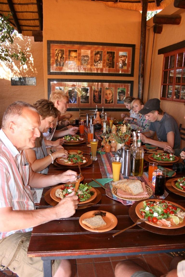 Kosten ter plaatse en boodschappen doen in Zuid-Afrika - lunch, maaltijd, uit eten, restaurant, Zuid-Afrika