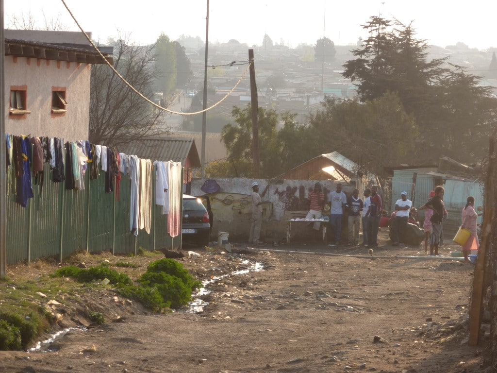 Ontmoet de locals - township, Soweto, Johannesburg, Zuid-Afrika