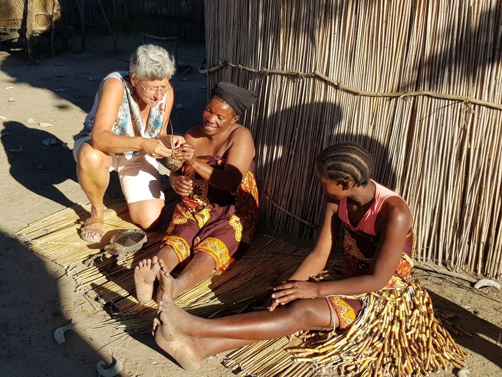 Ontmoet de locals - dorpsbezoek, Damaraland, Namibië