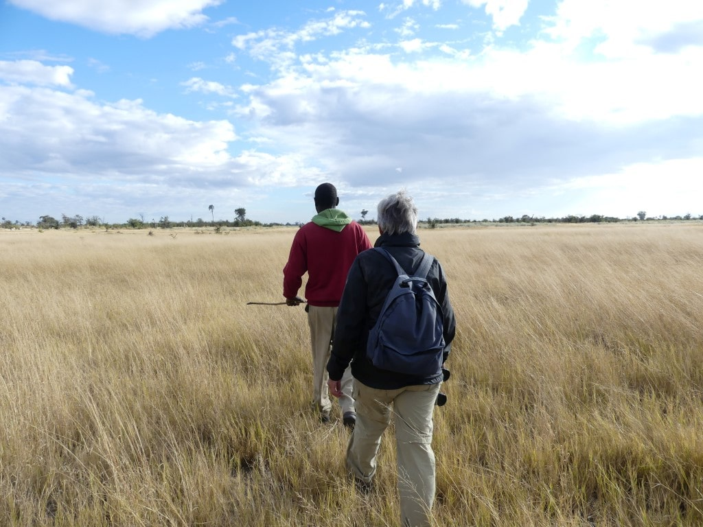 Henk & Ria - Wandeling Okavango Delta