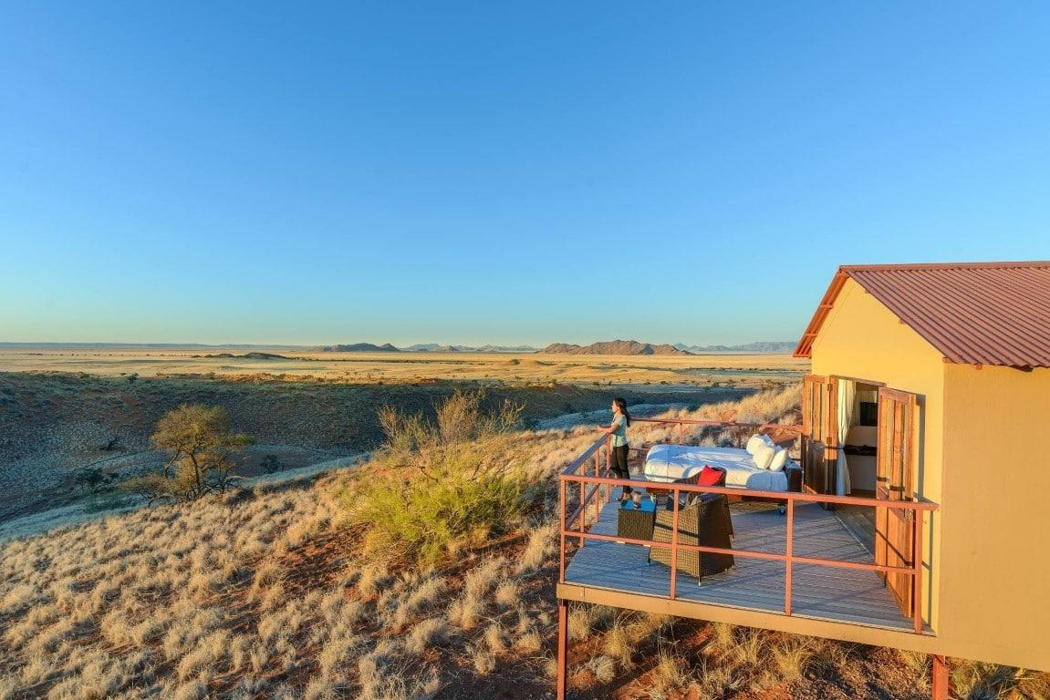 Exclusieve bestemmingen in Namibie - Namib Dune Star Camp, Sossusvlei, Namibie
