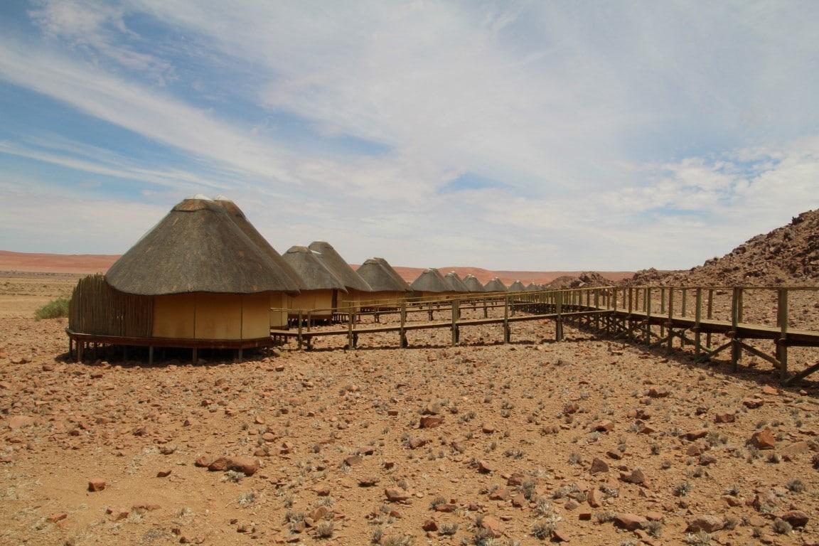 Exclusieve bestemmingen in Namibie - Sossus Dune Lodge, Sossusvlei, Namib Naukluft NP, Namibie