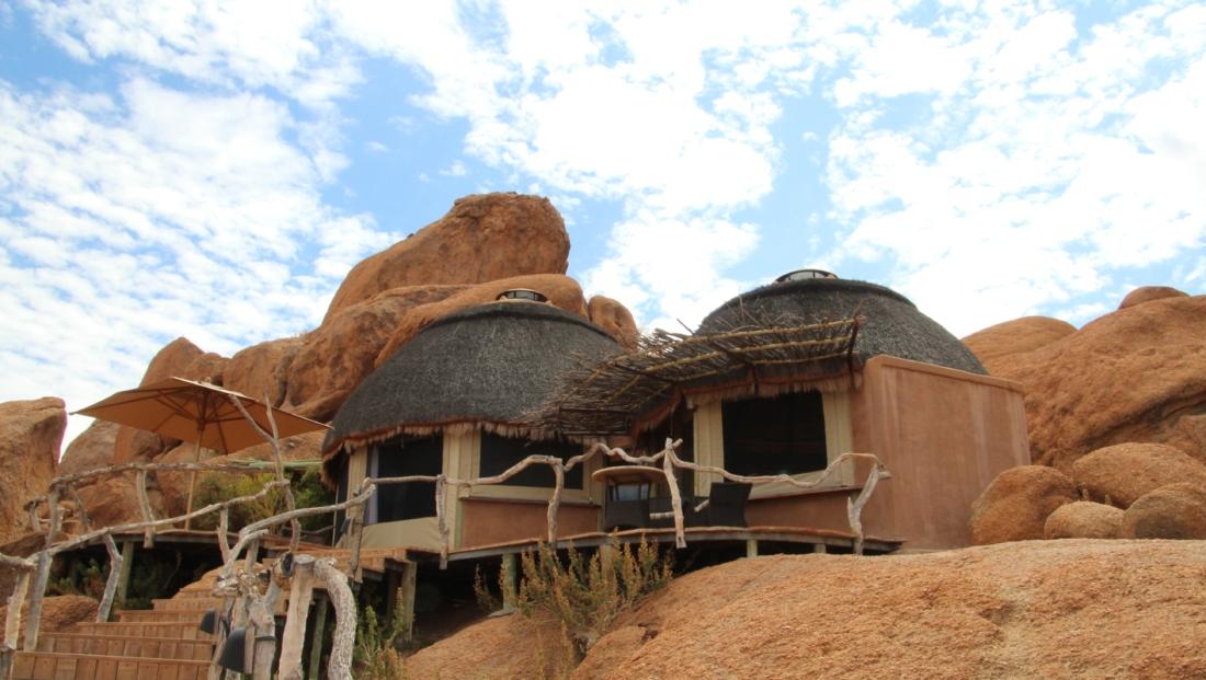 Camp Kipwe - Buitenkant slaapkamer