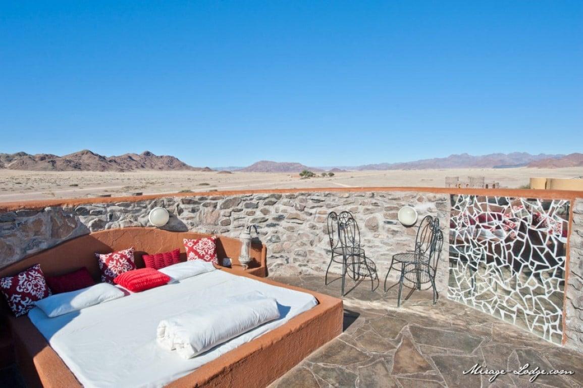 Rondreizen Namibië: Slapen onder de sterren.