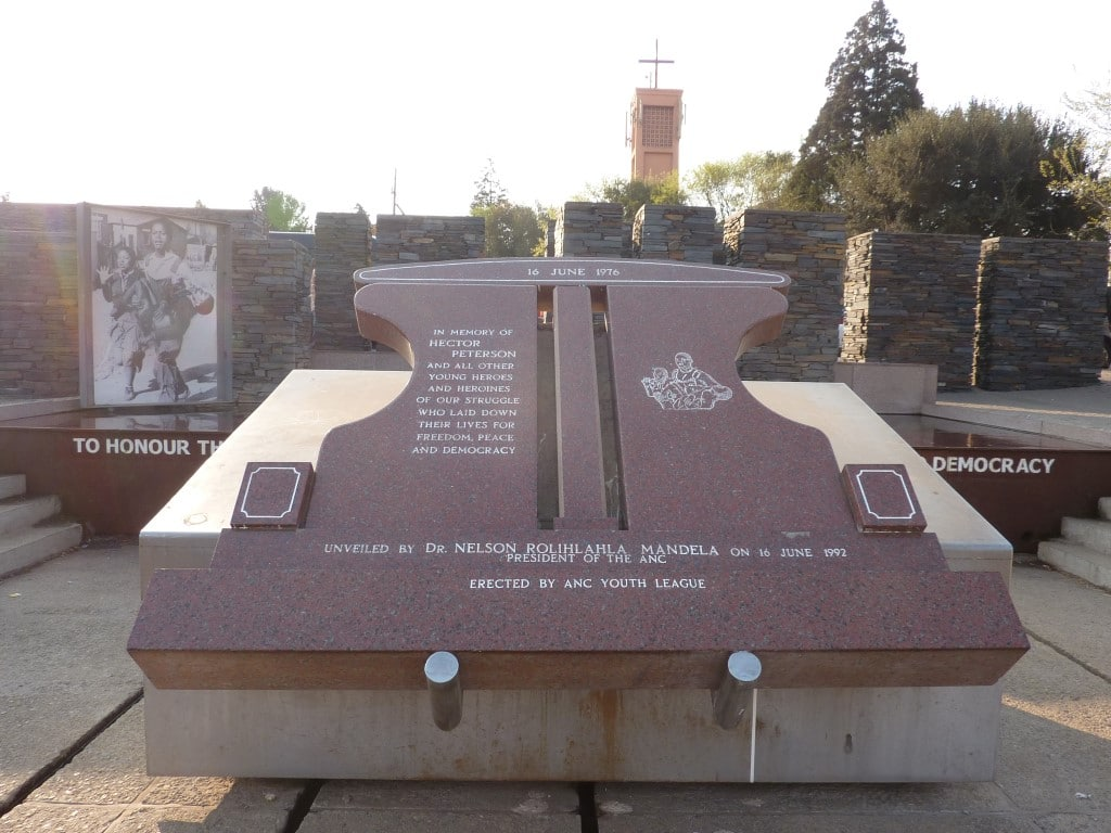 Zuid-Afrika, SOWETO, Hector Peterson Monument