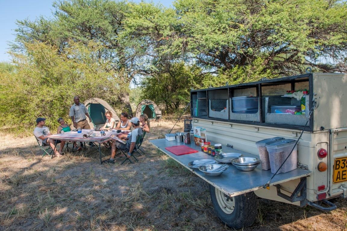 Kampeerreizen in Afrika - Volledig verzorgde kampeersafari met gids
